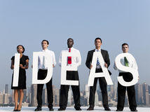 Business People with Ideas in the City Stock Photos