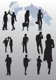 Business people illustration. Business people background vector illustration stock illustration