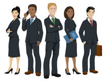 Business people illustration Stock Image