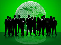 Business People Indicates Corporate Office And Together Stock Images