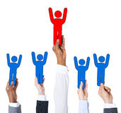 Business People and Individuality Concept Stock Images