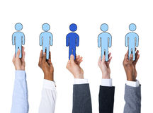Business People and Individuality Concepts Stock Images