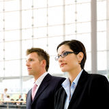 Business people indoor Royalty Free Stock Photography
