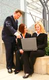 Business People Interacting Stock Photography