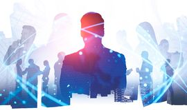 Business people international partnership concept royalty free stock image