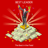 Business 09 People Isometric Royalty Free Stock Images