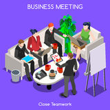 Business 06 People Isometric Stock Images