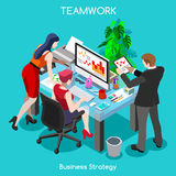 Business 04 People Isometric Stock Photography