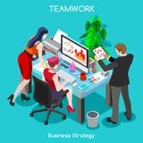 Business 04 People Isometric Stock Photography