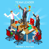 Business 08 People Isometric Royalty Free Stock Images