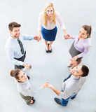 Business people joining hands Stock Image