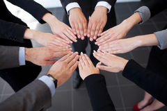 Business people joining hands Royalty Free Stock Images