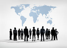 Business People Learning Global Business Stock Image