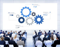 Business People Learning About Teamwork Royalty Free Stock Images