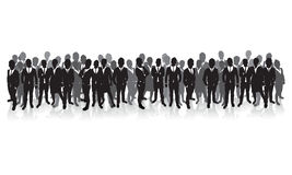 Business people lines Stock Image