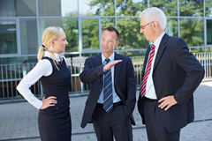 Business people listening Stock Photography