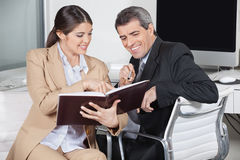 Business people looking Stock Images