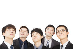 business people looking up Royalty Free Stock Photo