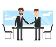 Business people make a deal. Partnership. Royalty Free Stock Photography