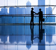 Business People Making an Agreement.  Stock Images