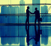 Business People Making Agreement Stock Photography