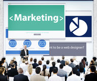 Business People Marketing Presentation Concept Stock Image