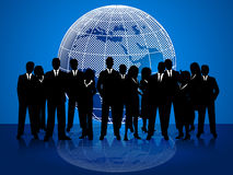 Business People Means Cooperation Globalize And Coworkers Royalty Free Stock Image