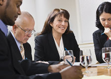 Business People in Meeting Royalty Free Stock Photos