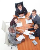 Business people in a meeting Stock Image