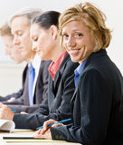 Business people in meeting Stock Photography