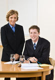Business people in meeting Royalty Free Stock Photo