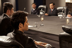 Business people in meeting Royalty Free Stock Photography