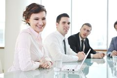 Business people at meeting Royalty Free Stock Photography