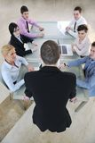 Business people at meeting Royalty Free Stock Photo