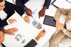 Business people meeting royalty free stock photos
