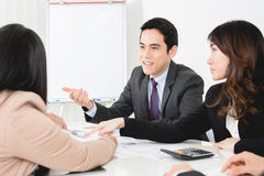 Business people at the meeting Royalty Free Stock Images