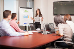 Business people on a meeting Royalty Free Stock Images