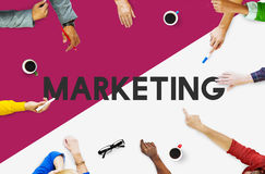 Business People Meeting Brand Marketing Concept. Business People Meeting Brand Marketing Stock Photo