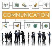 Business People Meeting Communication Concept stock photos