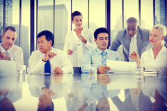 Business People Meeting Communication Discussion Working Office Royalty Free Stock Images