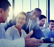 Business People Meeting Communication Discussion Working Office Royalty Free Stock Photos