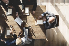 Business People Meeting Conference Brainstorming Concept.  stock image