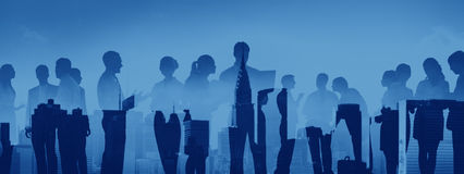 Business People Meeting Conference Corporate Cityscape Concept royalty free stock image