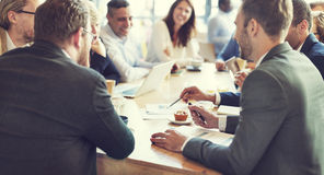 Business People Meeting Conference Discussion Corporate Concept Royalty Free Stock Photos