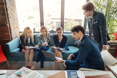 Business People Meeting Conference Discussion Corporate Concept. Business People Meeting Conference Discussion Corporate royalty free stock photography