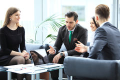 Business People Meeting Conference Discussion Corporate Concept. Stock Images