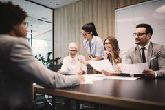 Business People Meeting Conference Discussion Corporate Concept. Business People Meeting Conference Teamwork Discussion Corporate Concept royalty free stock images