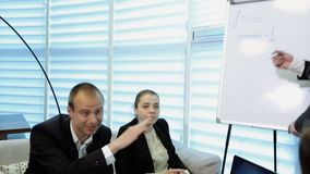 Business People Meeting Conference stock footage