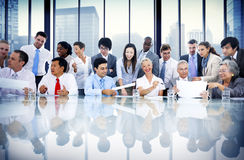 Business People Meeting Conversation Communication Interaction C Stock Photography
