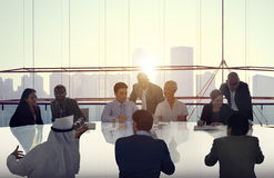 Business People Meeting Cooperation Team Concept Royalty Free Stock Photography